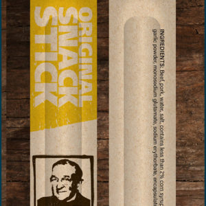 Pops snack sticks original product packaging